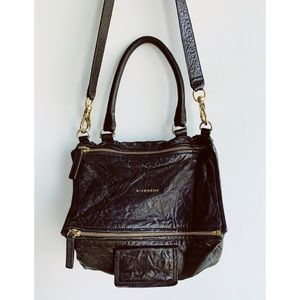 Givenchy Large Pandora Satchel in Washed Leather
